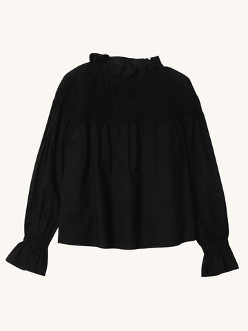 Majorelle Blouse in Black