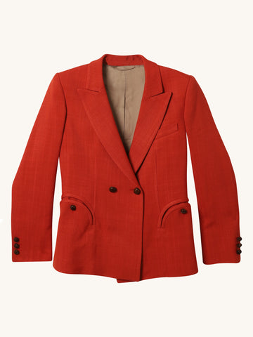 Charmer Blazer in Orange