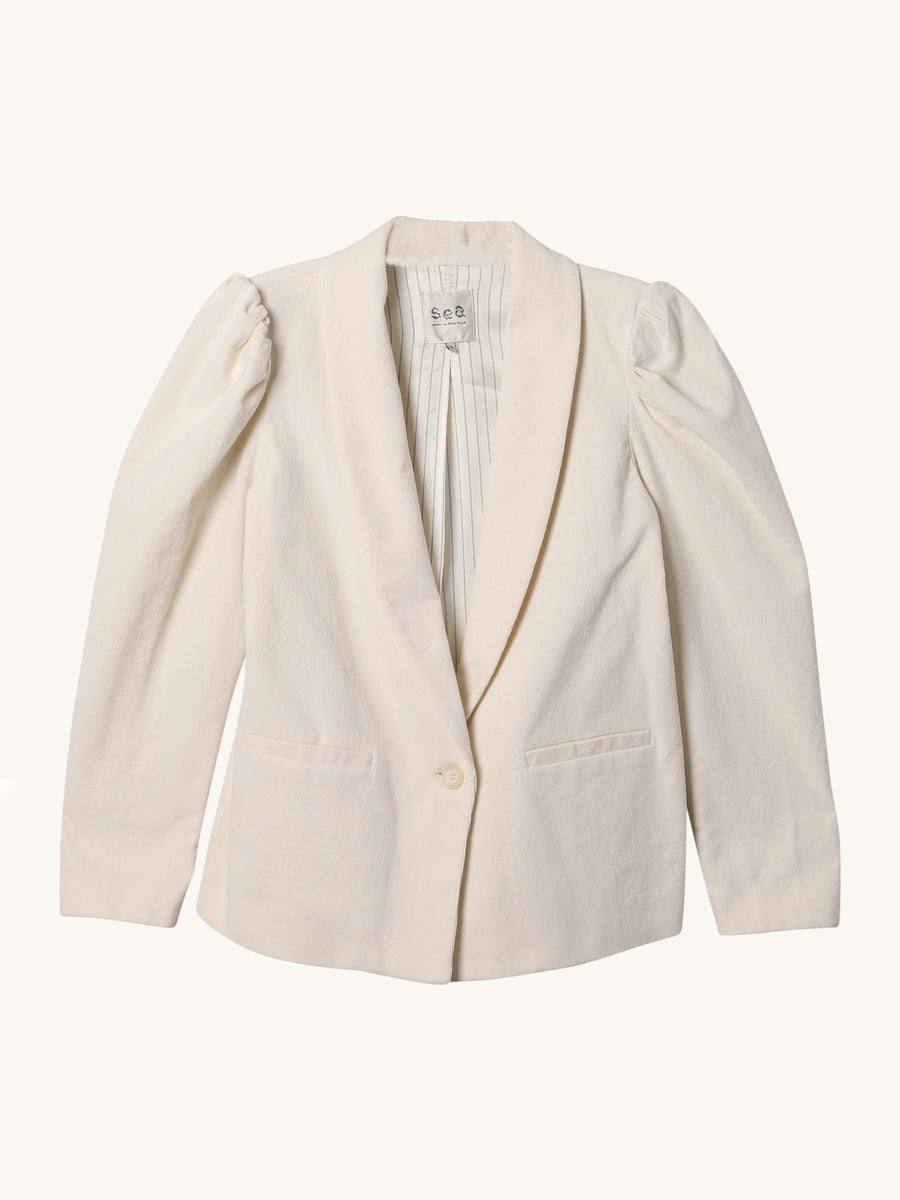 Curtis Blazer in Cream