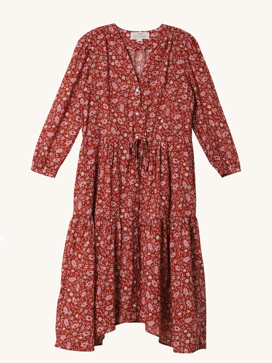 Rose Floral Ainsley Dress