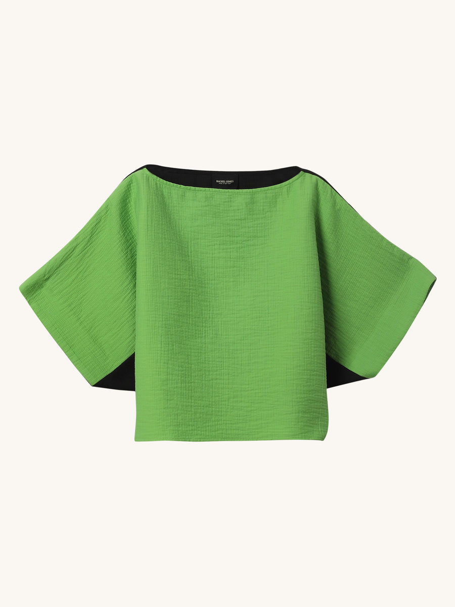 Electric Green Shell Top