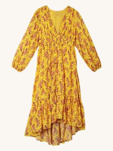 Joan Dress in Yellow