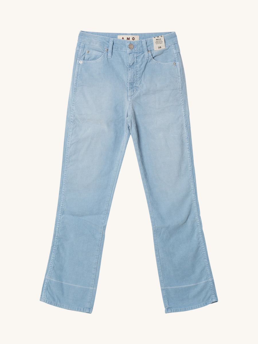 Bella Corduroy Pant in Baby Blue