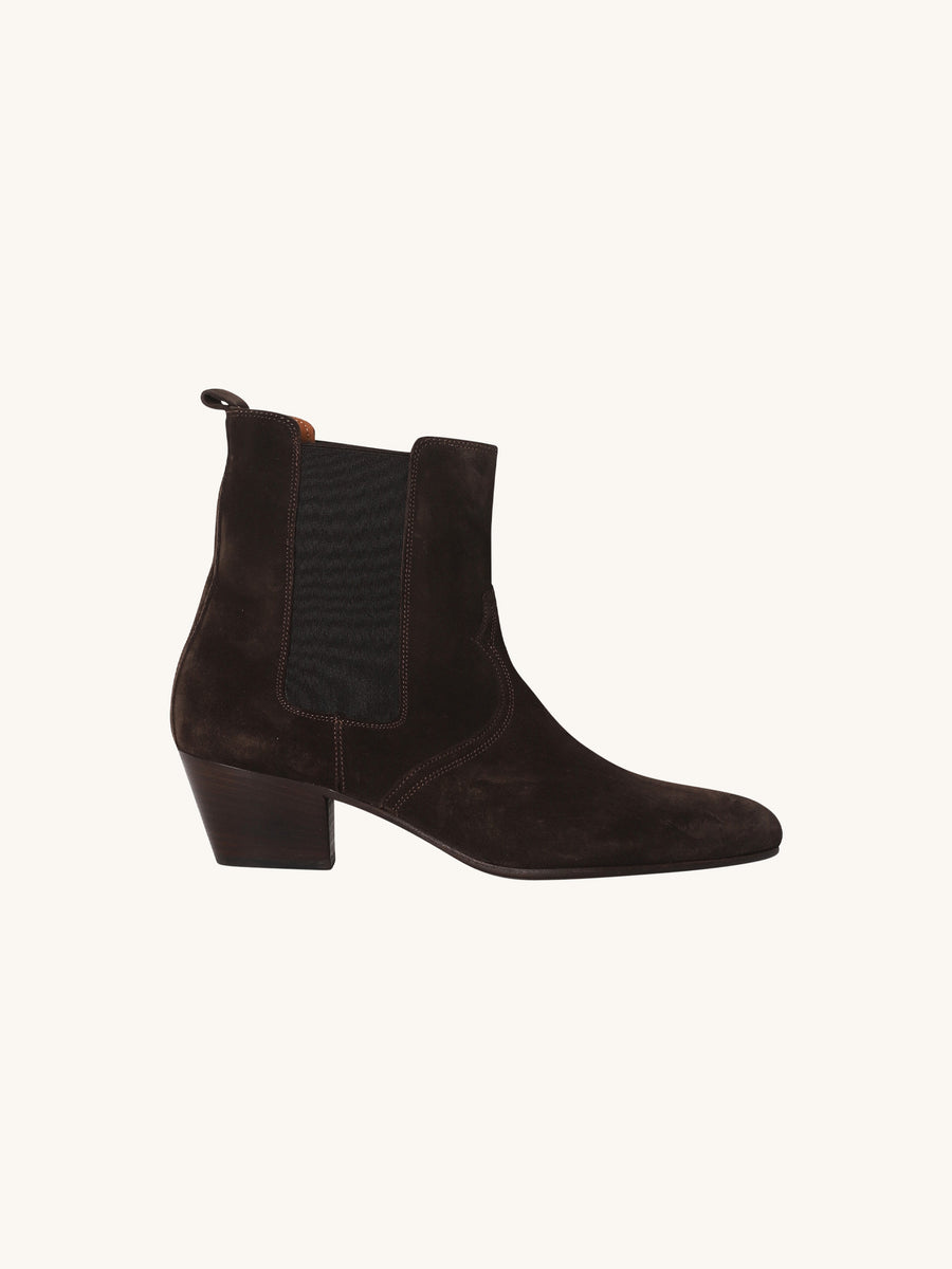 Dark Brown Anise Bootie