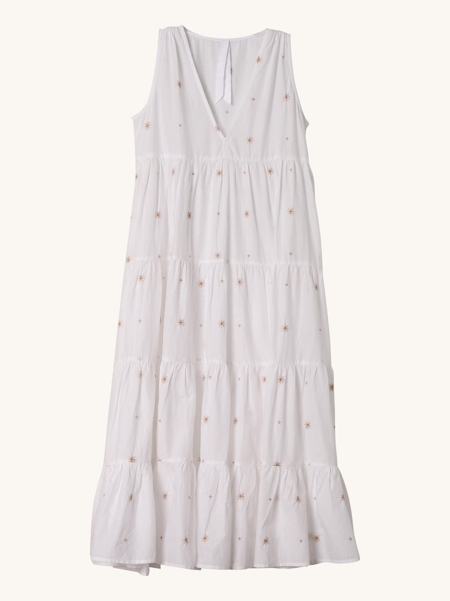 Embroidered Chelsea Dress