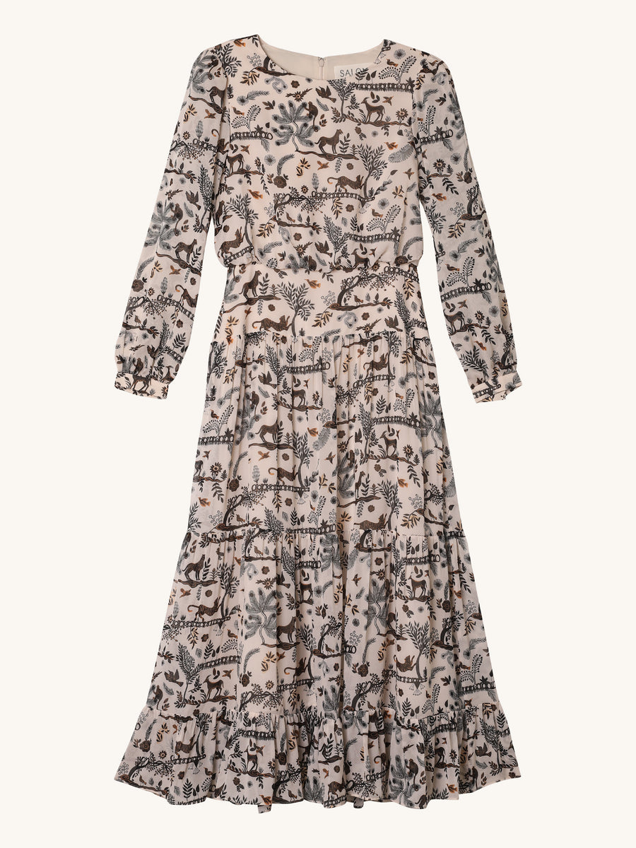 Isabel Jungle Print Dress