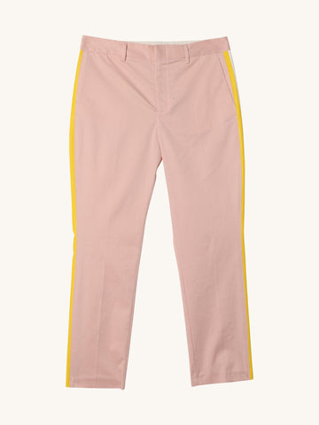 Stripe Trouser in Blush