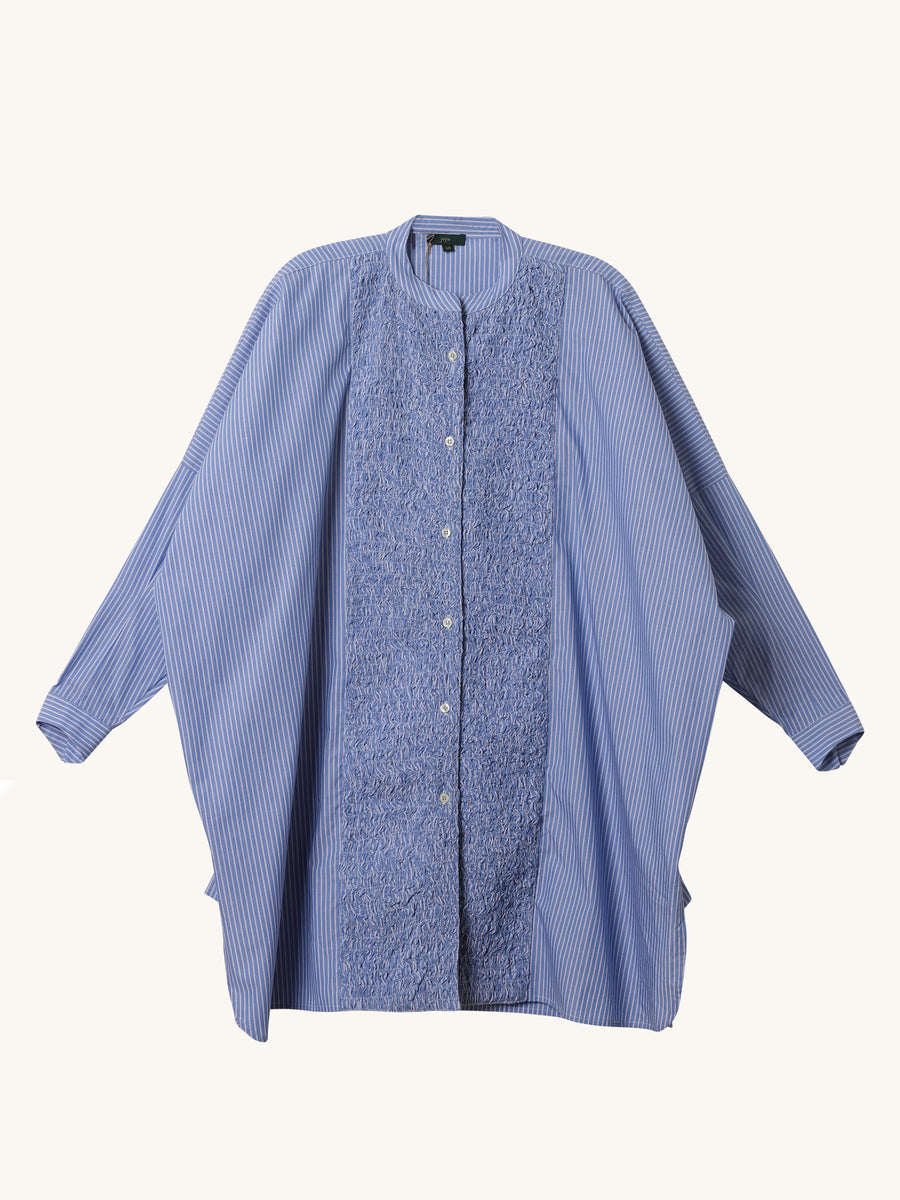 Donna Shirt in Blue Stripe