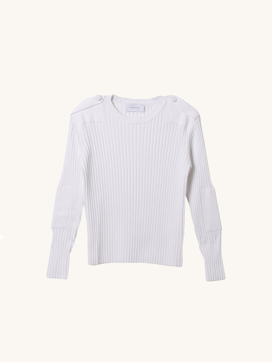 Major Tom Knit in White