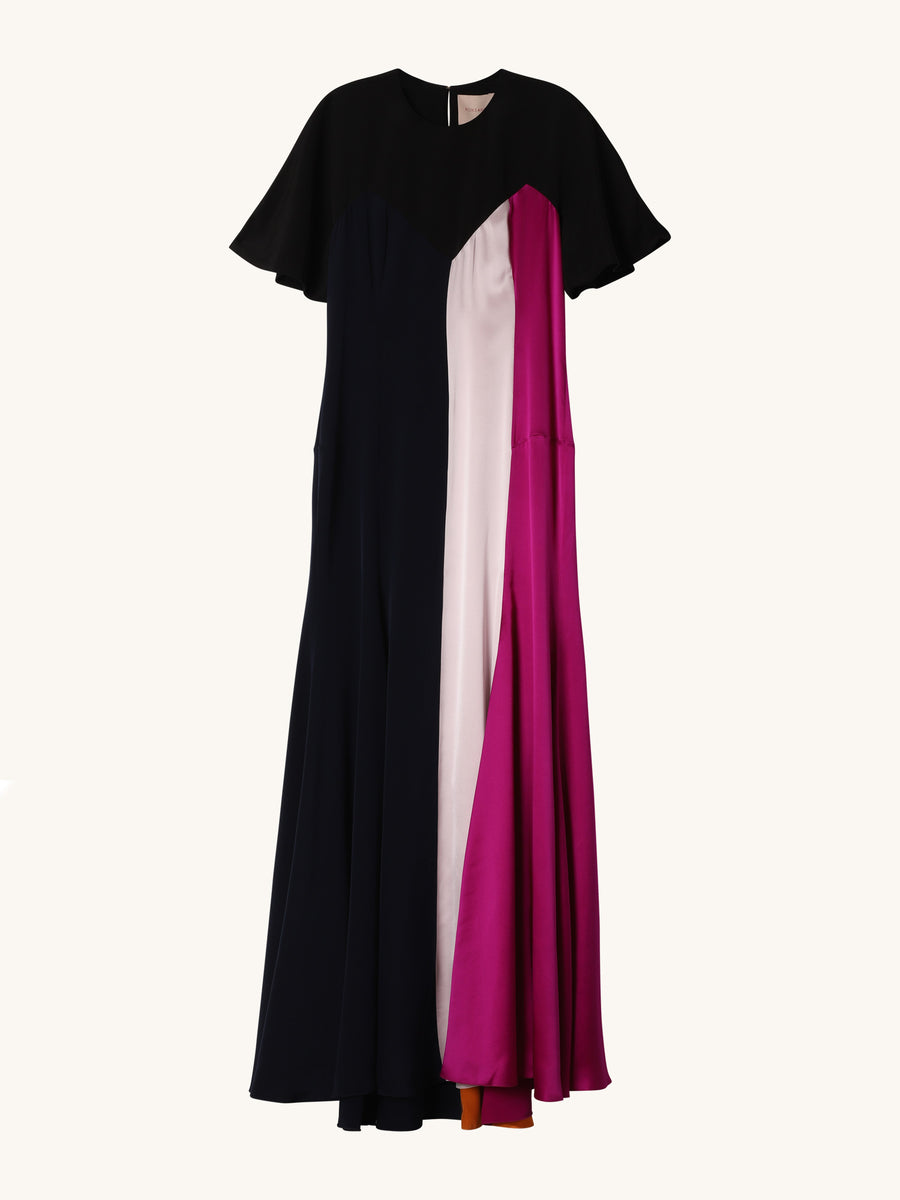Colorblock Emile Dress