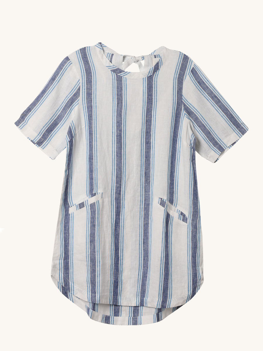Stripe Raffi Shirt Dress