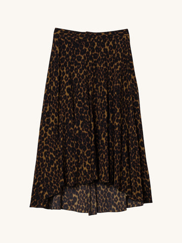 Charlotte Skirt in Leopard