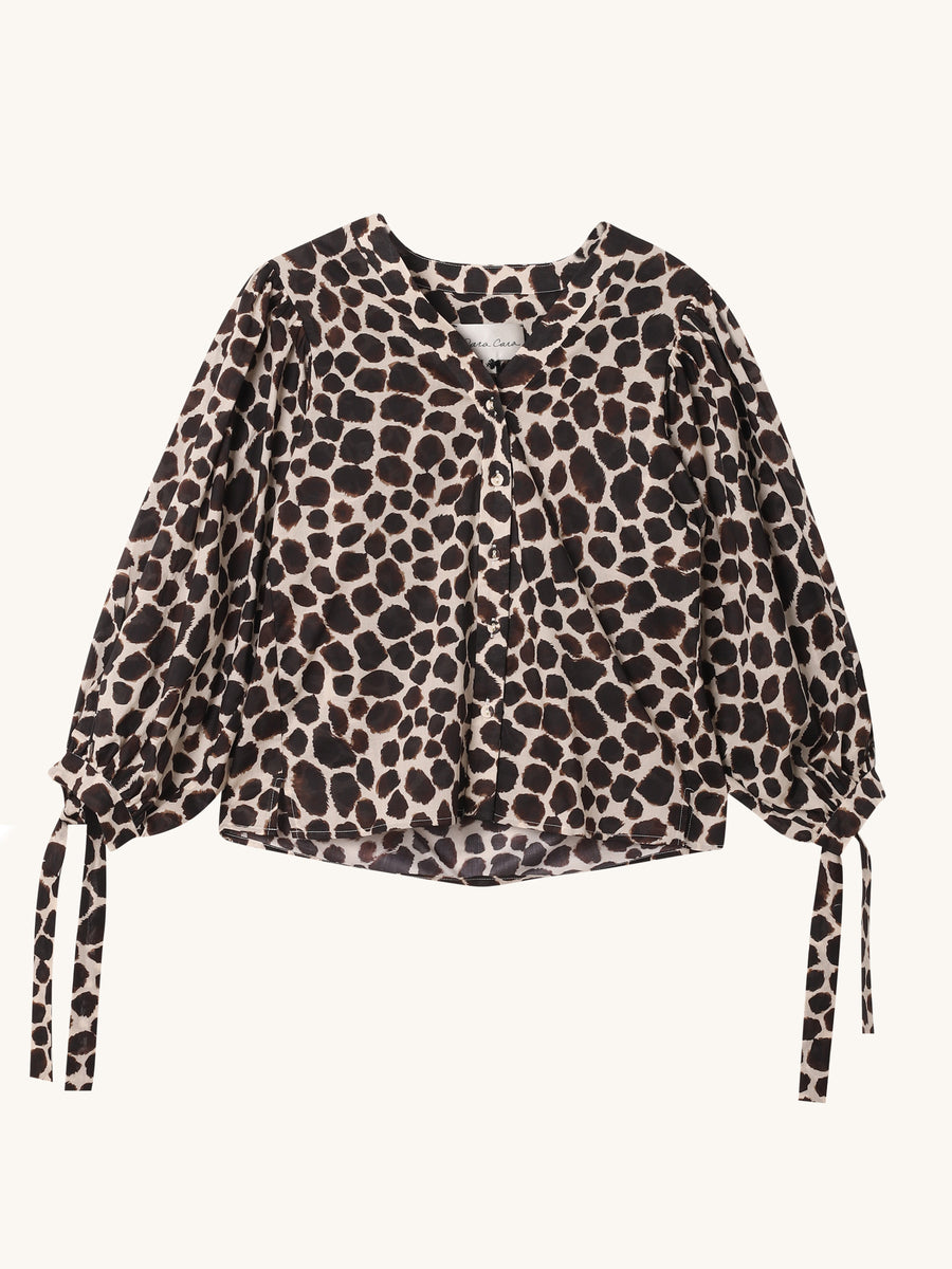 Animal Print Win Top