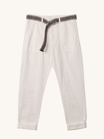 Tucker Pant in White