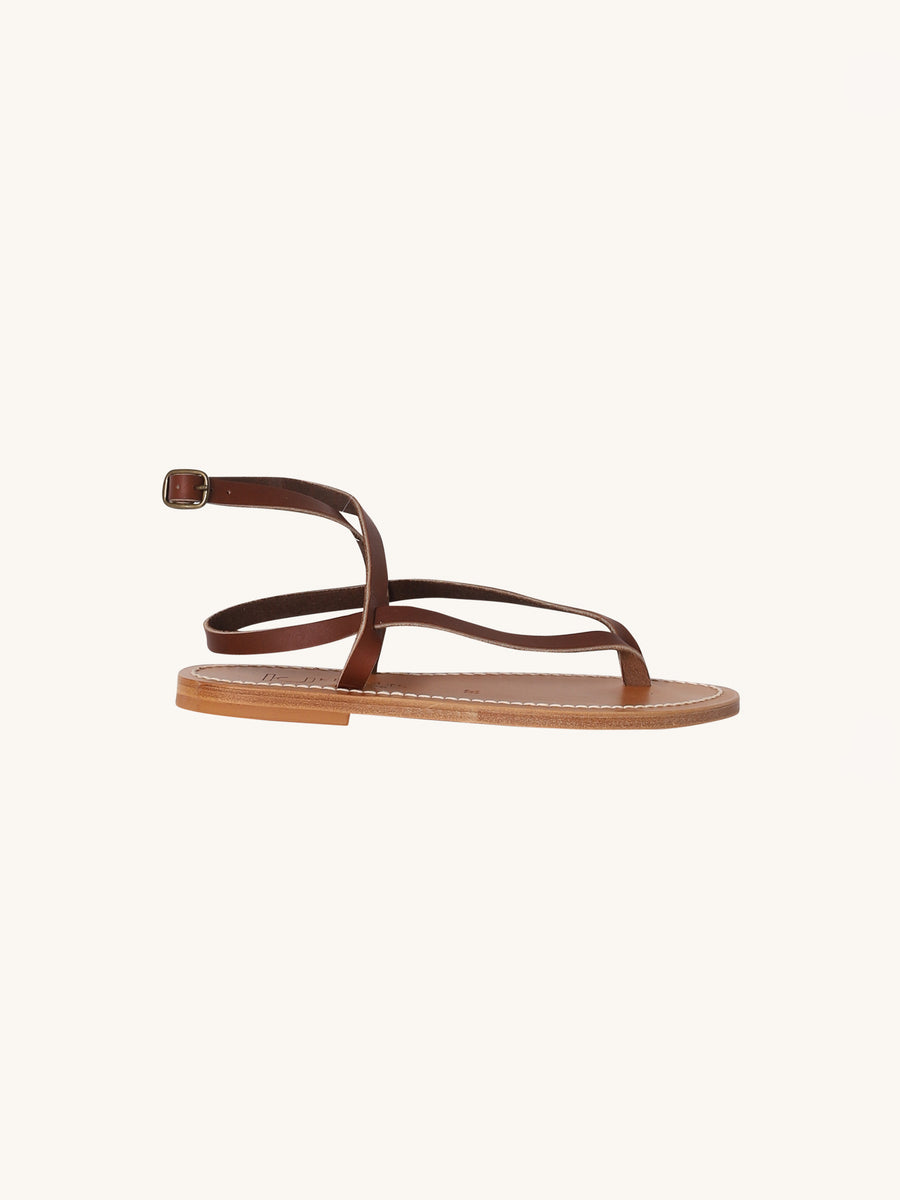 Delta Sandal in Marron