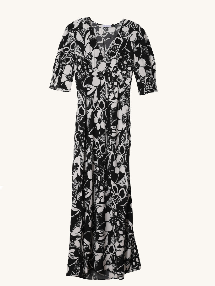 Zadie Swirl Floral Dress