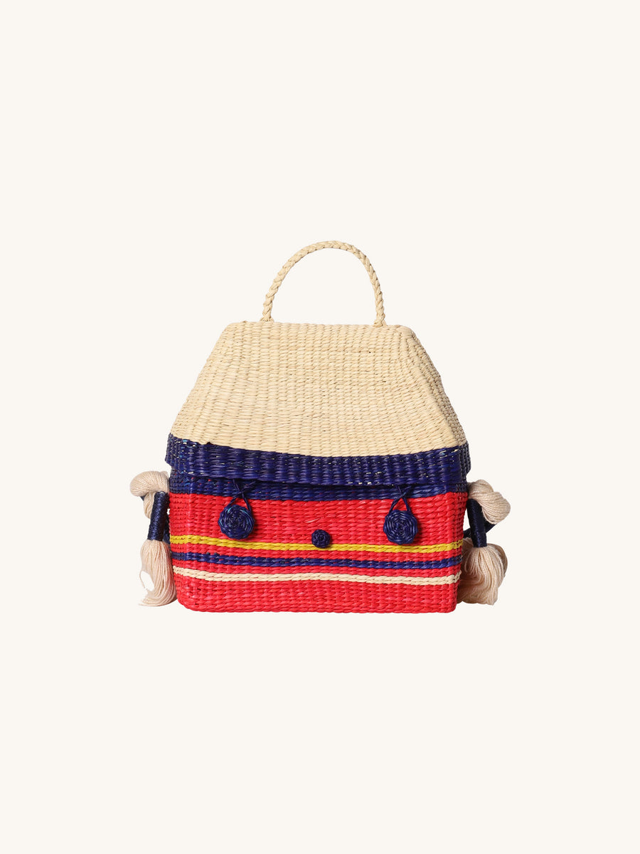Multicolored Toquilla House Bag