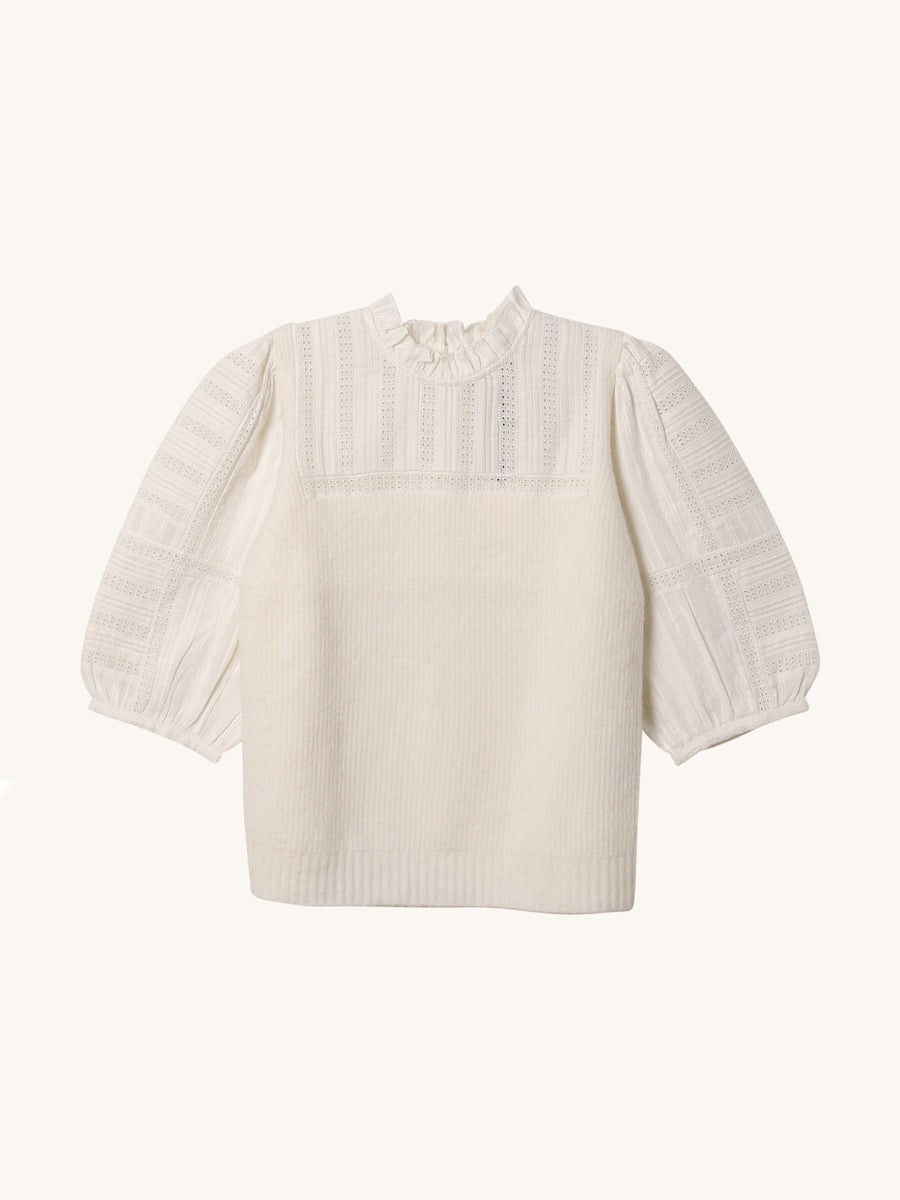 Pascale Sweater in Cream