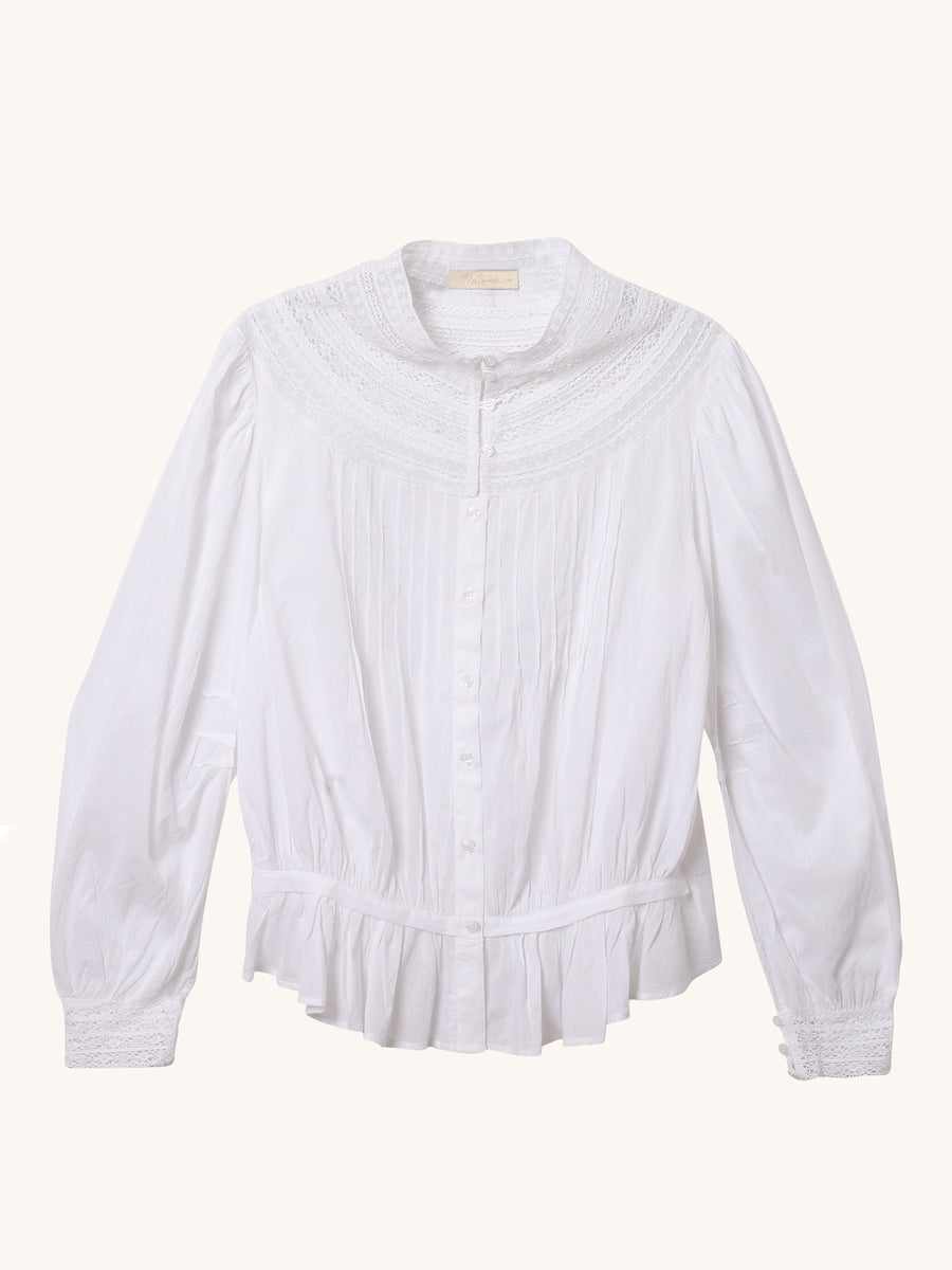 Candice Blouse in White