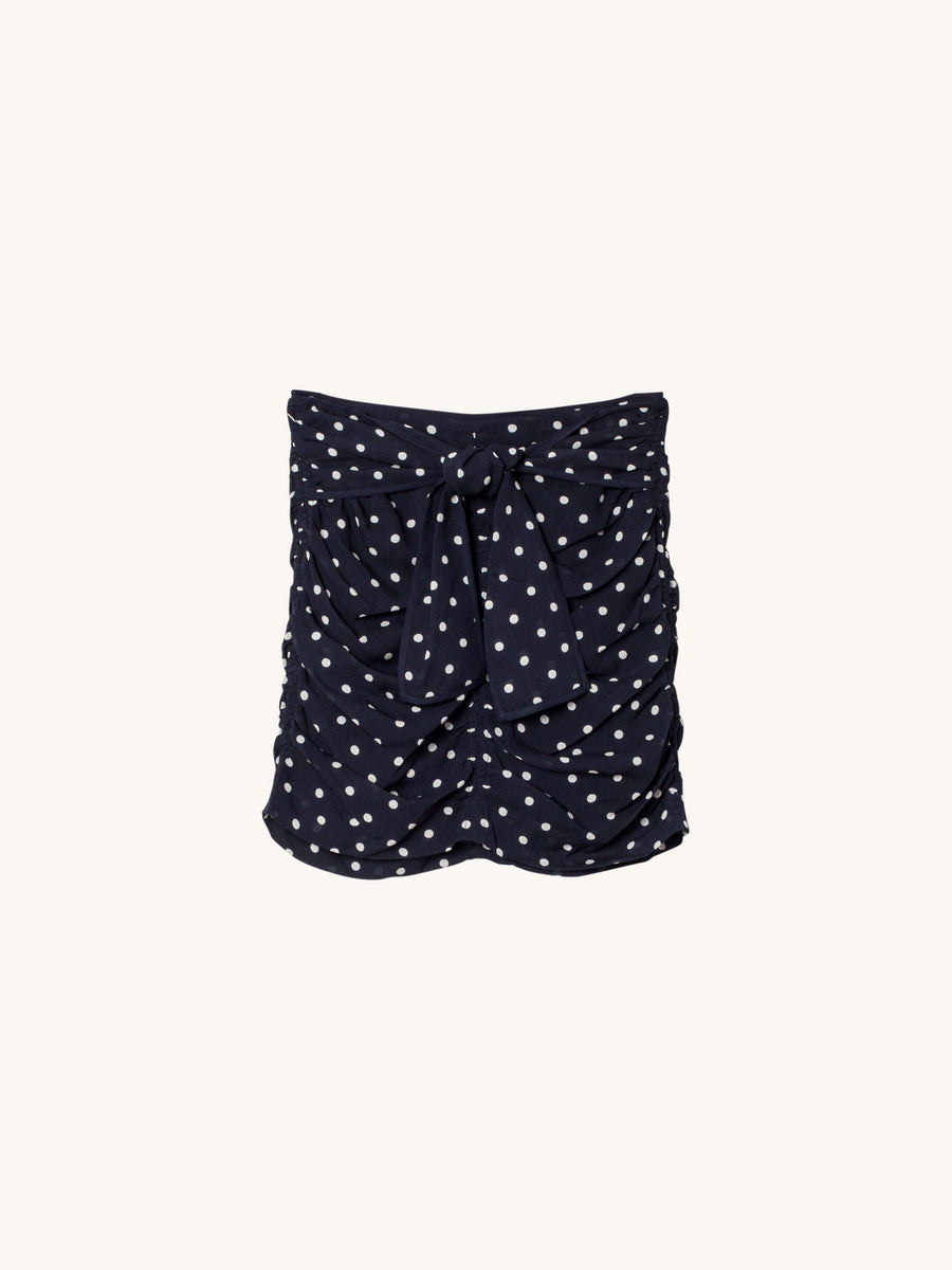 Ava Skirt in Dot Print