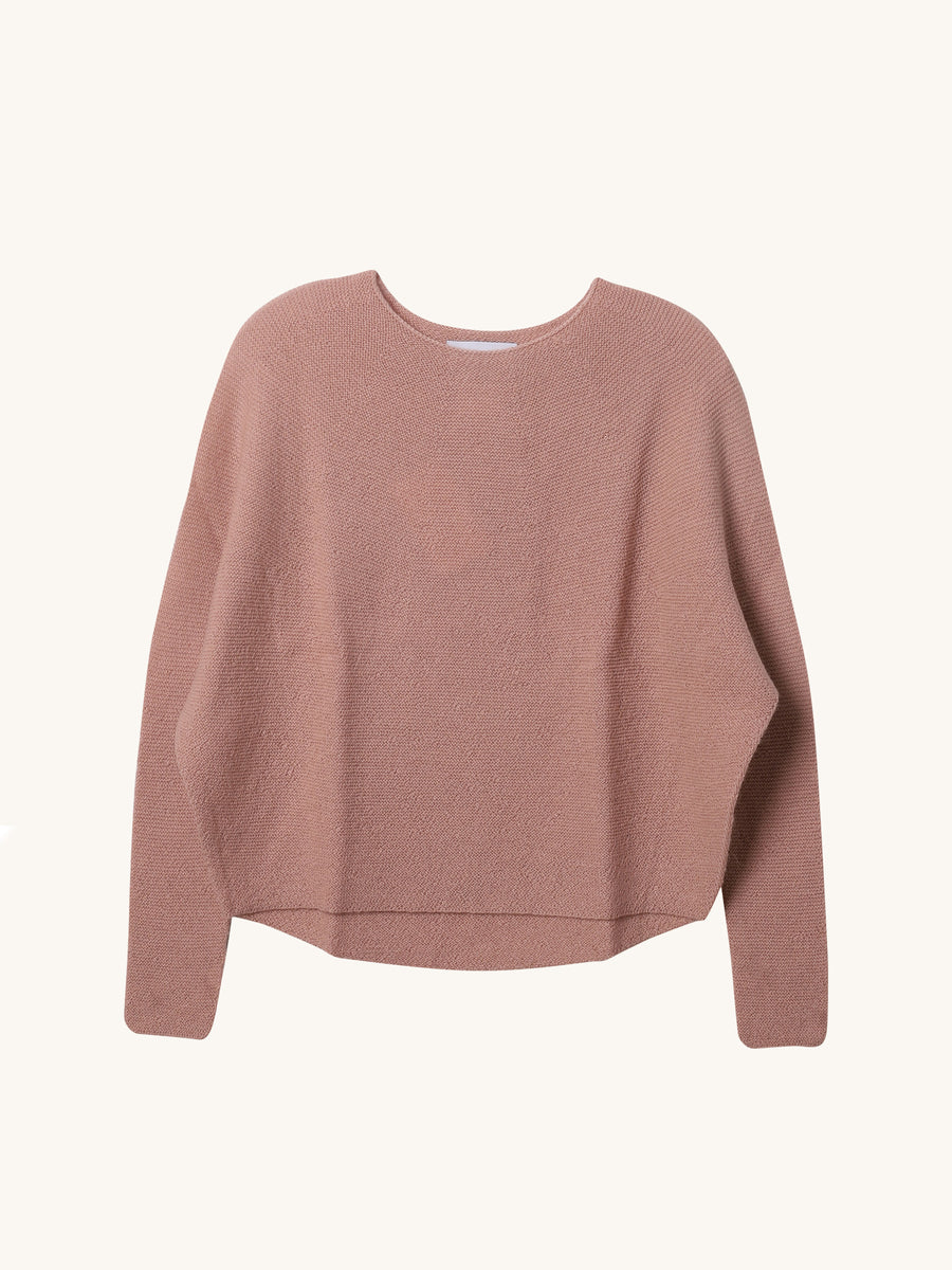 Kasima Knit in Indian Pink