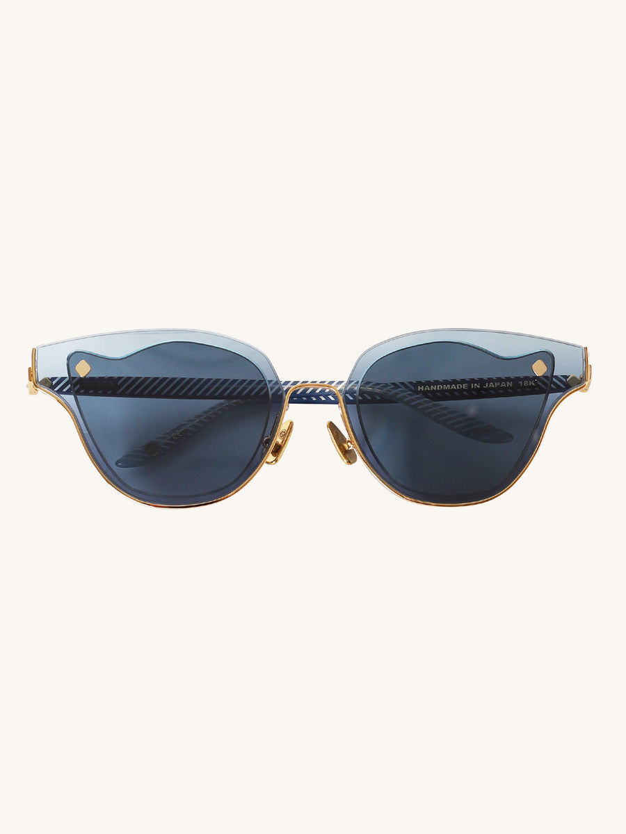 Medea Sunglasses in Dark Blue