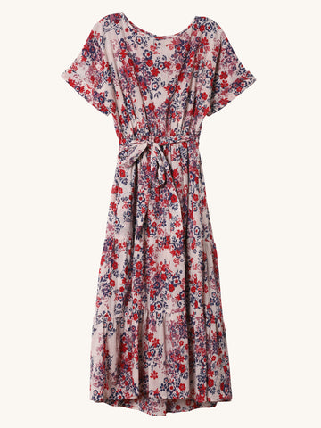 Aubrey Floral Print Dress