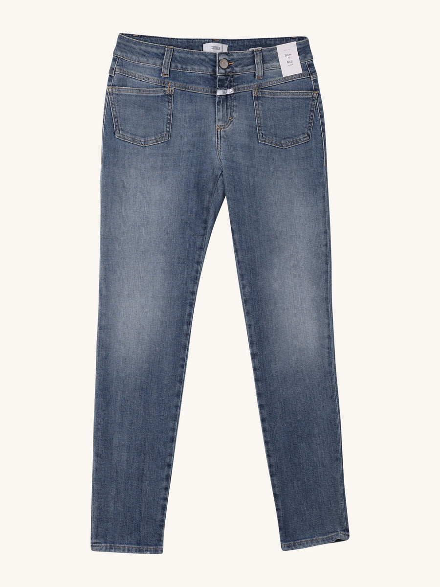 Pedal-X Jean in Mid Blue