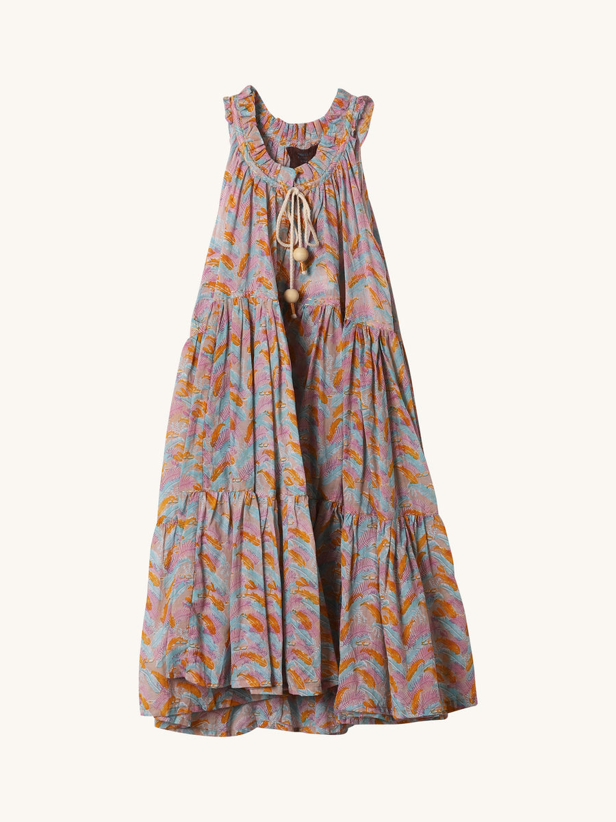 Mini Hippydress in Multi Jungle Print