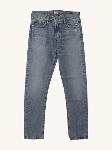 "Harlow Mid Rise in ""ChitChat"" Medium Wash"