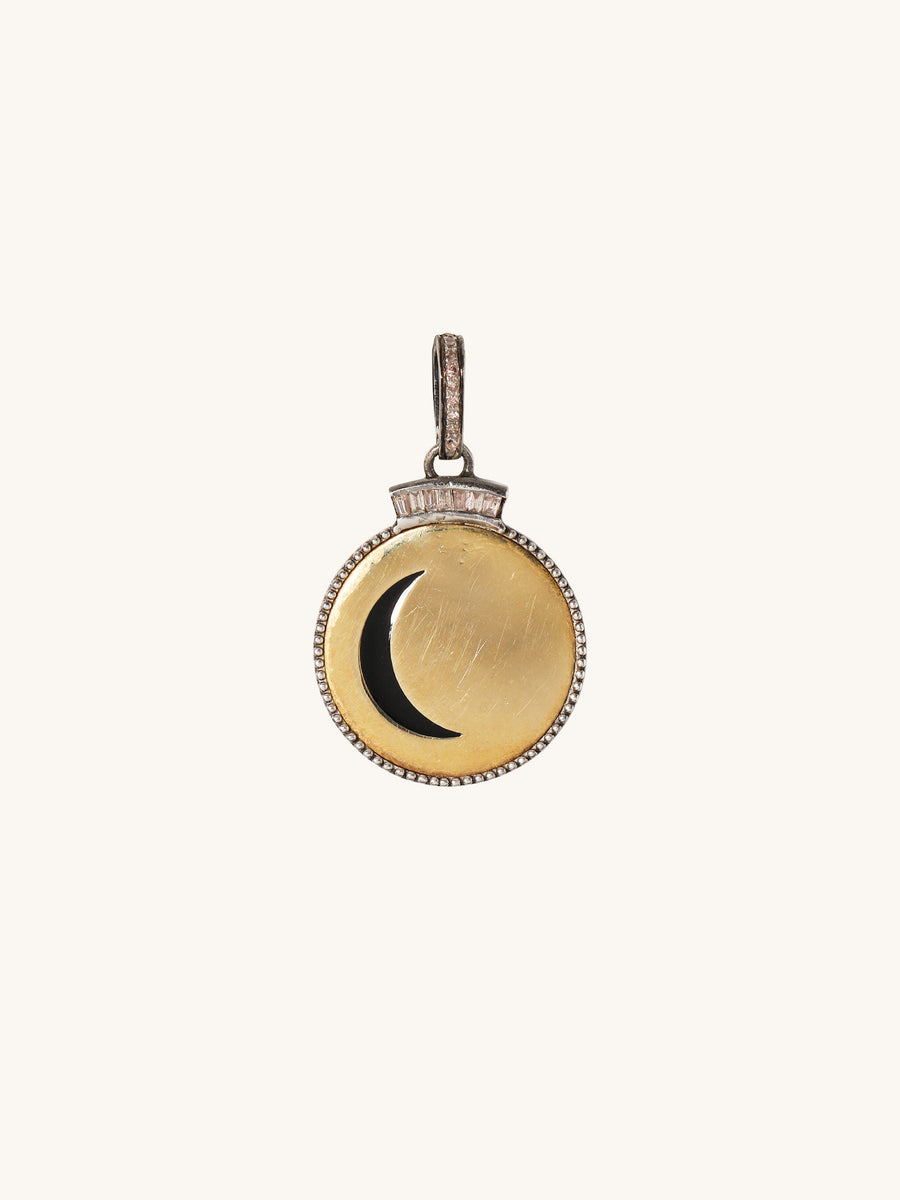 Small Moon Pendant