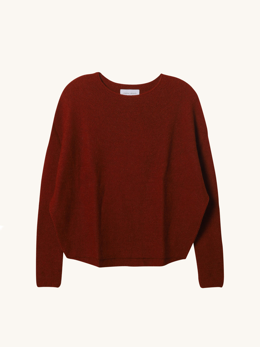 Kasima Knit in Rust