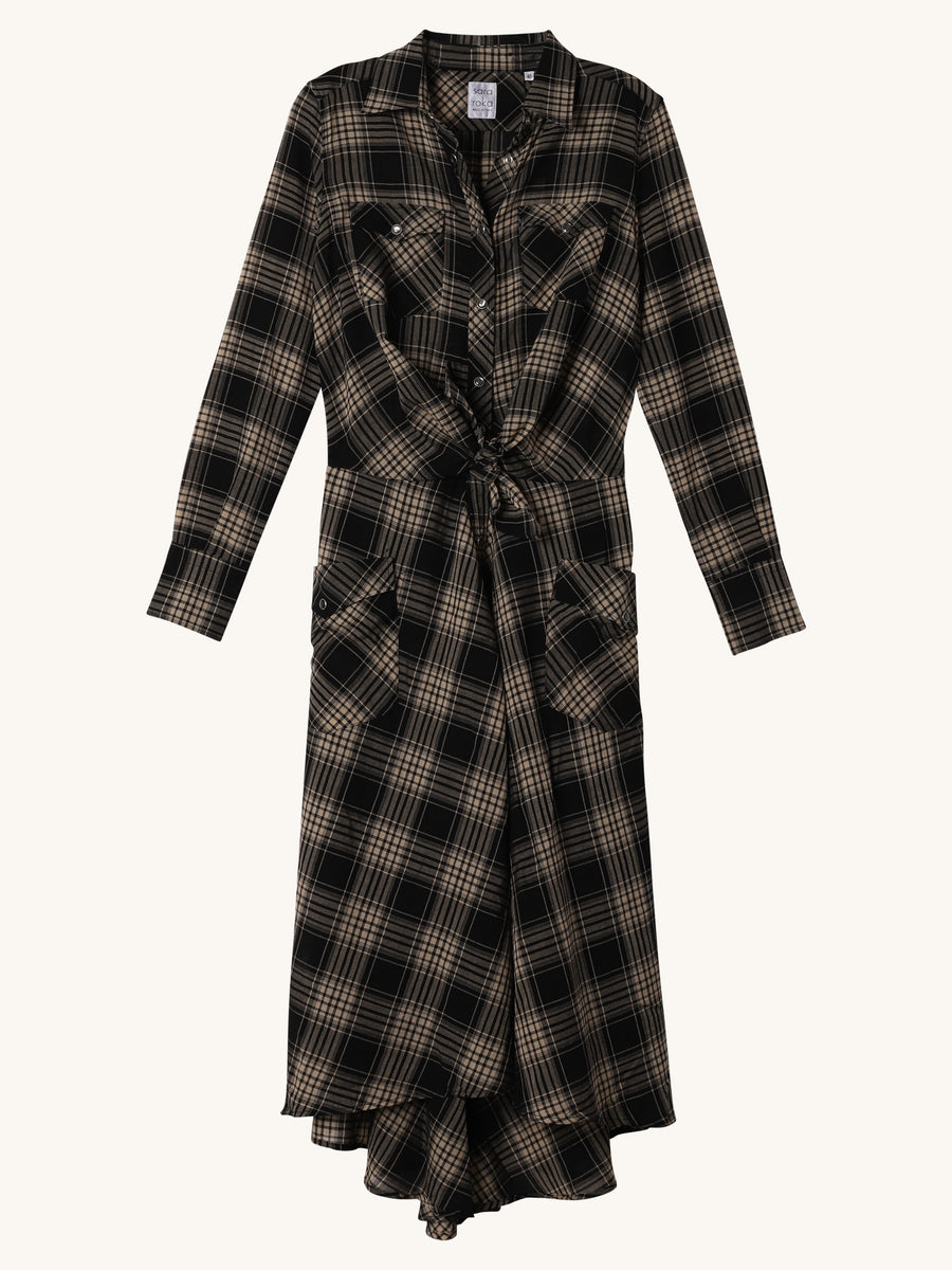 Plaid Drake Dress