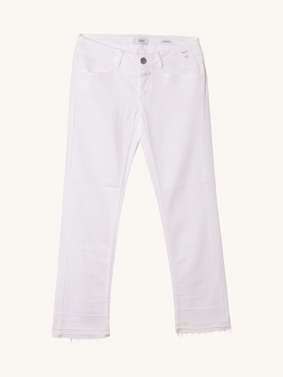 Starlet Low Rise Skinny Jean in White