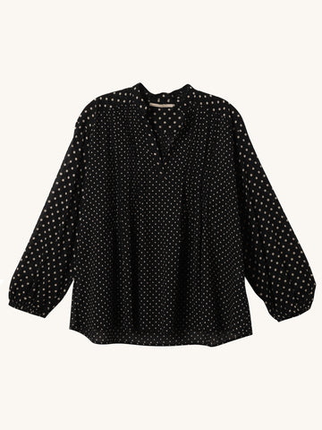 Cotton Dot Blouse