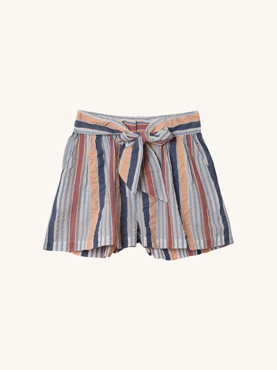 Martim Tie Shorts in Sky