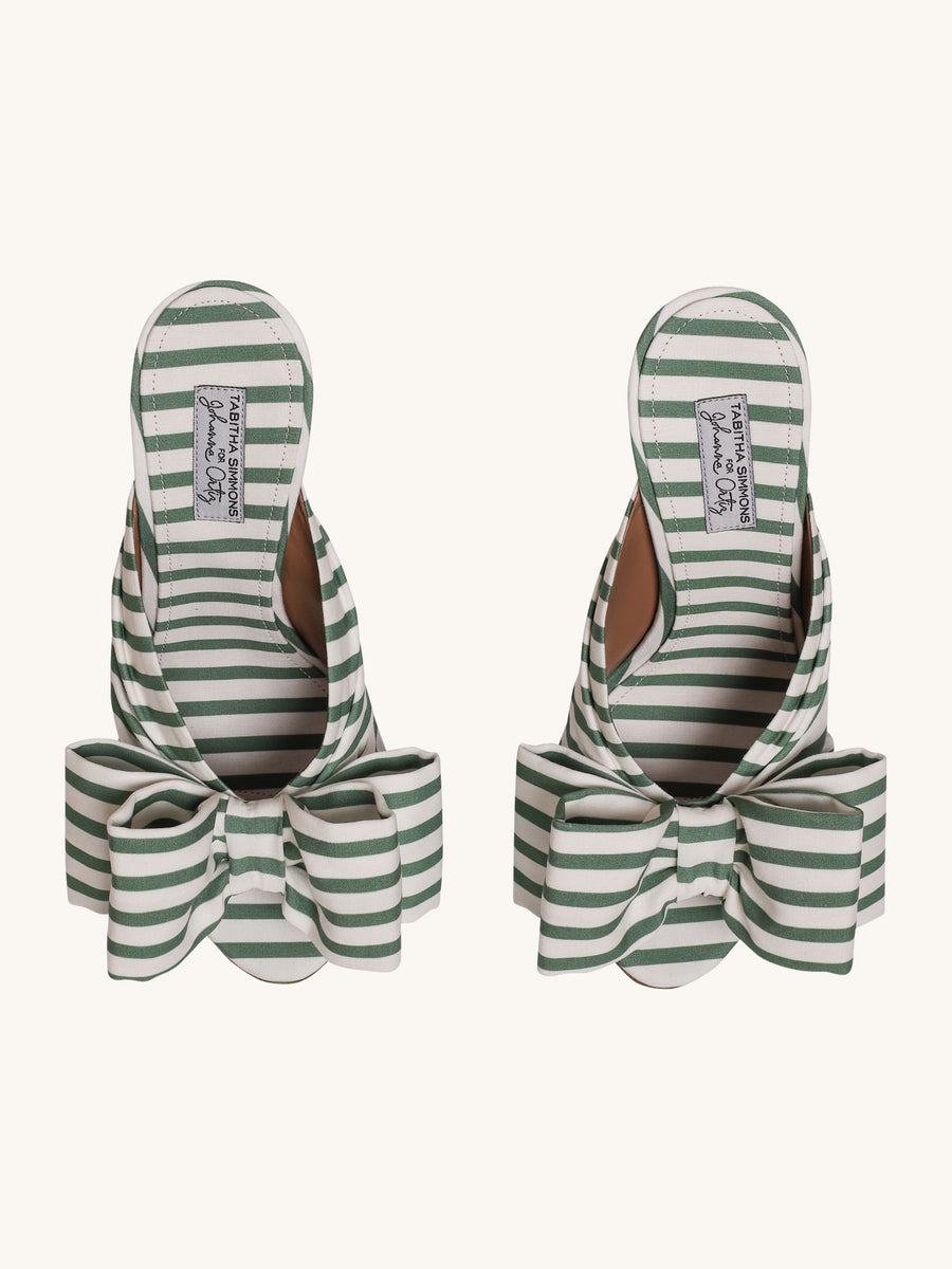Green Stripe Lollie