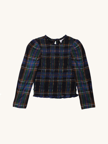 Plaid Katherine Top