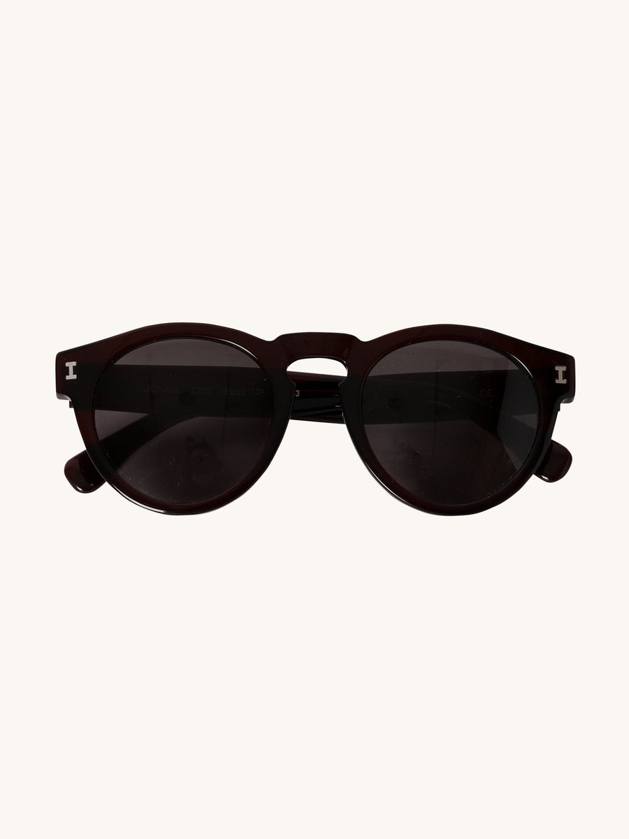 Leonard Sunglasses in Oxblood