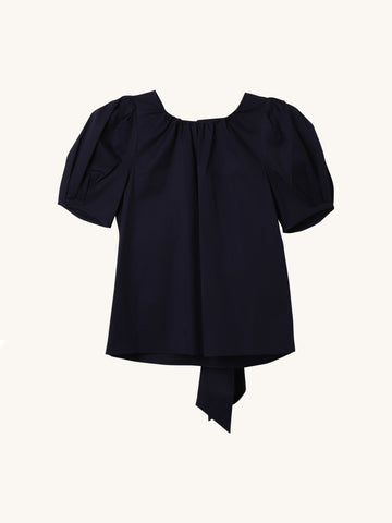 Carol Top in Navy