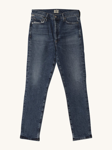"Olivia High Rise in ""Moments"" Medium Wash"