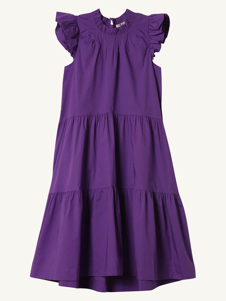 Tabitha Dress in Grape
