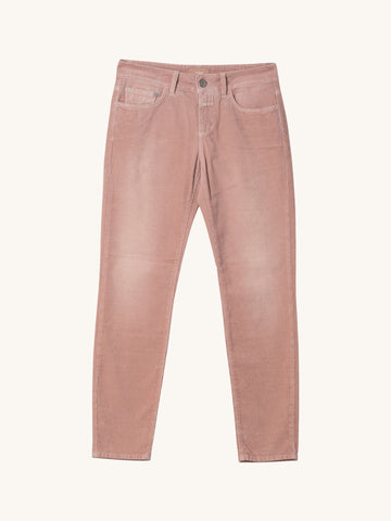 Baker Cord Pants in Rosy