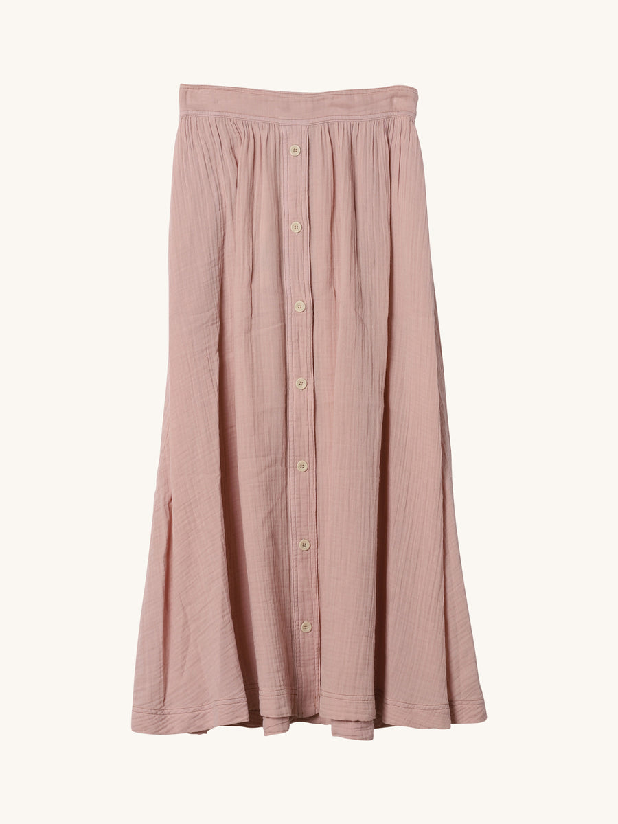 Teagan Skirt in Angel Pink