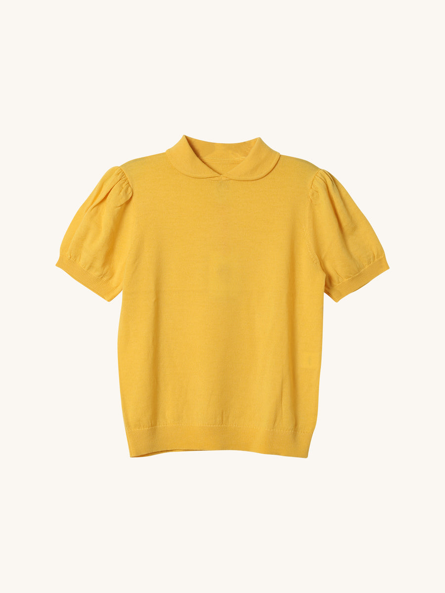 Clement Vibrant Knit in Yellow