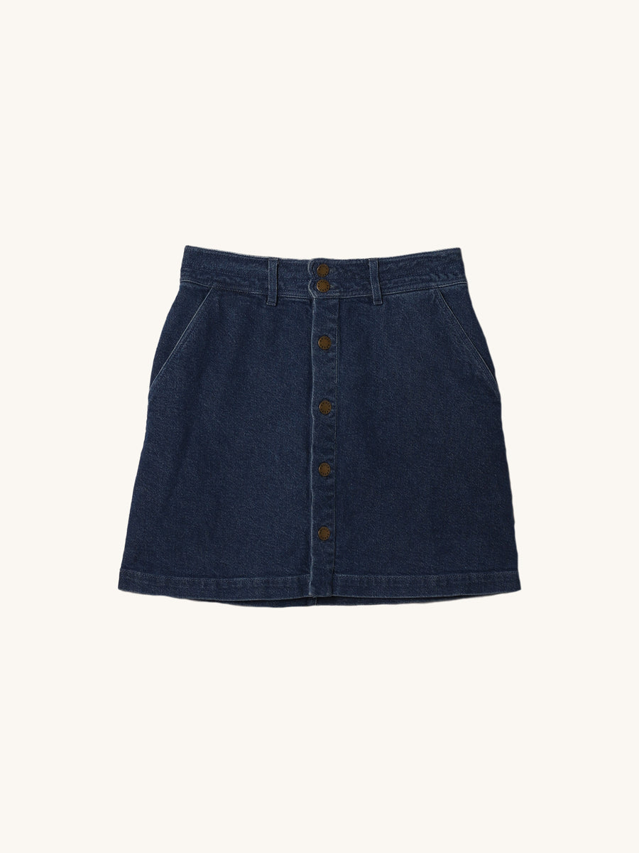 Chloe Denim Skirt in Marseille