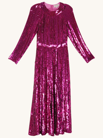 Ray Sequin Dress