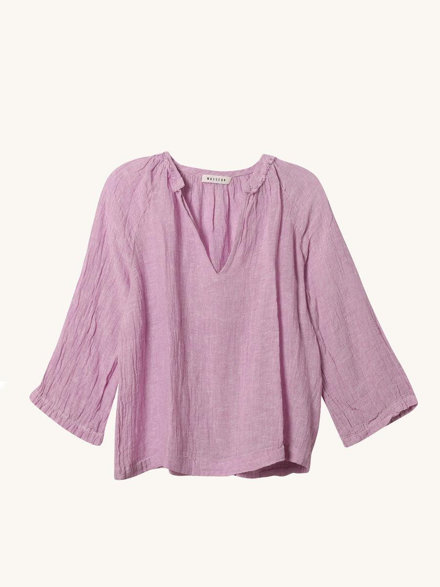 Rita Top in Plum