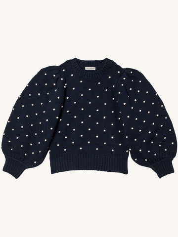 Adalene Pullover in Navy