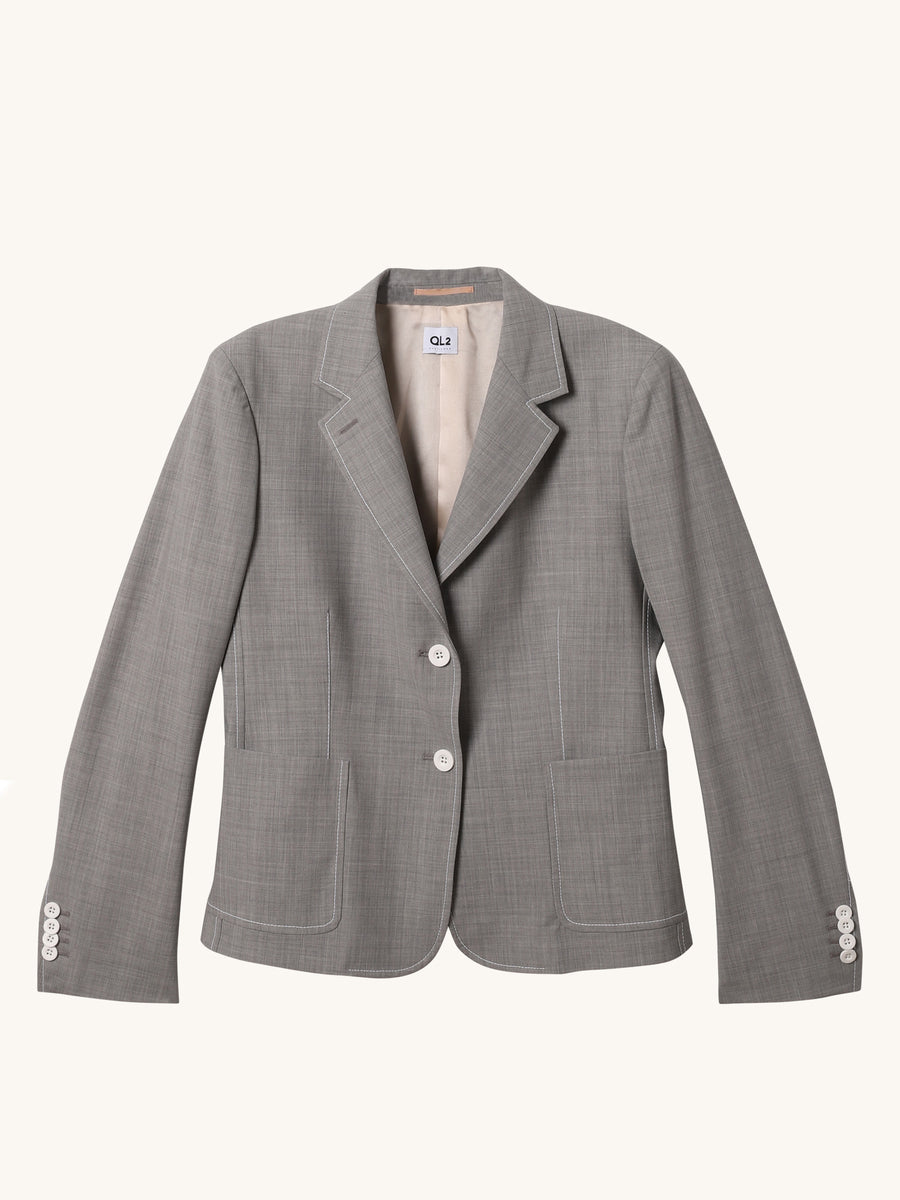 Diana Blazer in Grey